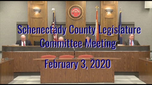 Schenectady Co Committee  3 Feb 2020