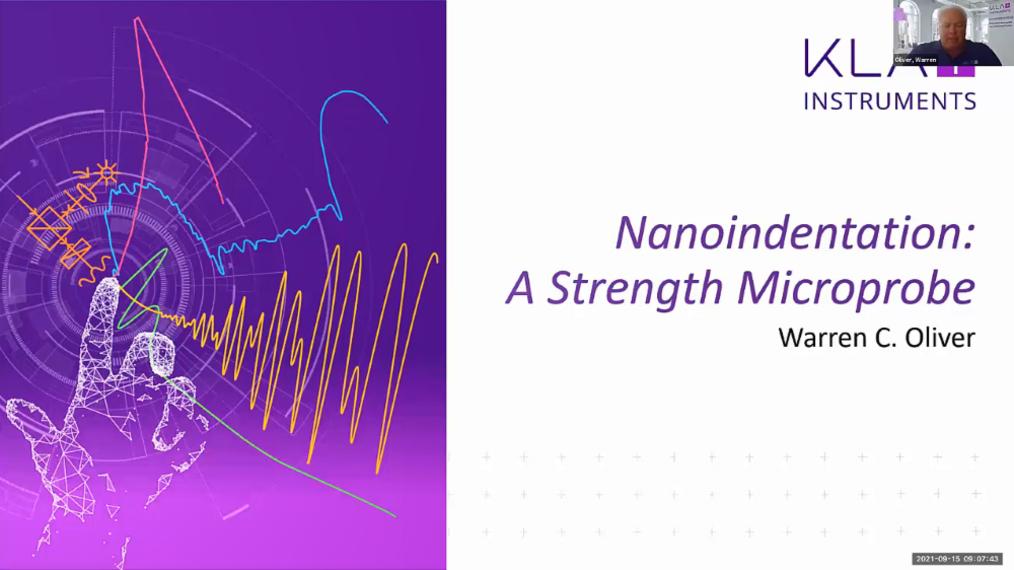 China eUser Meeting: Nanoindentation - A Strength MicroProbe