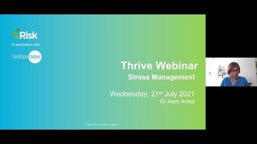 Stress Management Module 1 - Thrive