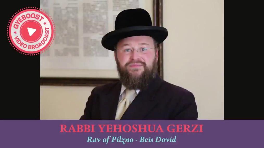 741 - Rabbi Yehoshua Gerzi - El éxito genera éxito