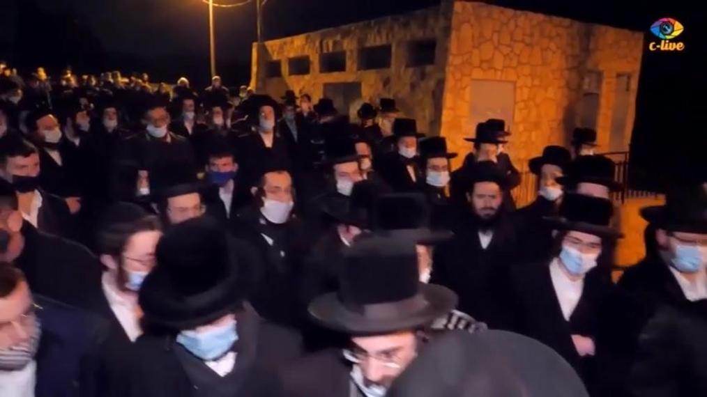 Rabbi Twerski Levaya (1 min)