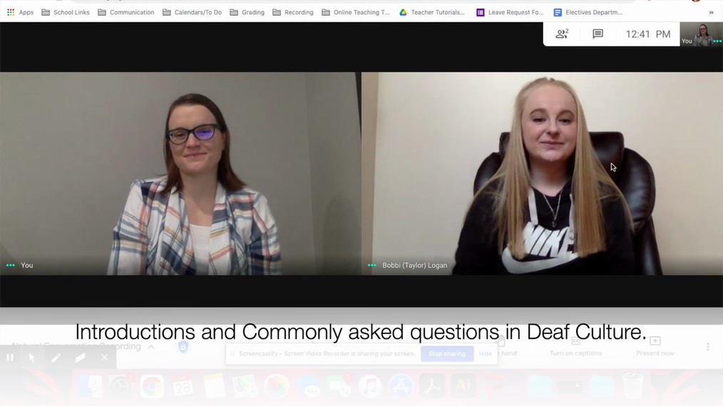 Natural Conversation in Action - ASL 1 Q3 W4 (captions)