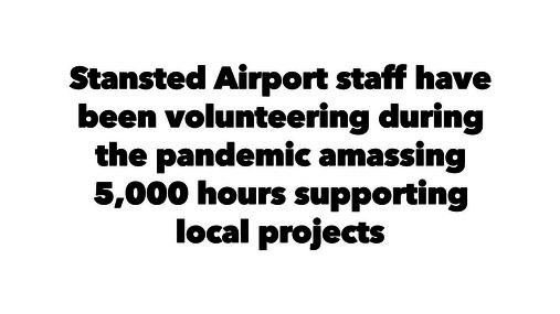 Stansted volunteering