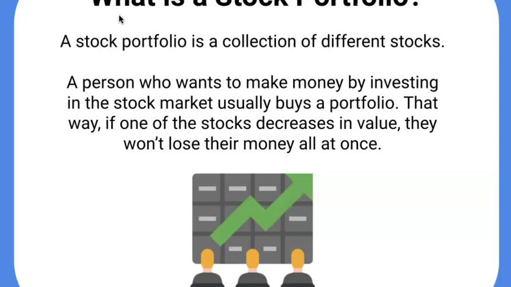 What is a stock portfolio.mp4