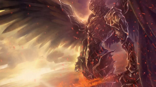 The angel of battle