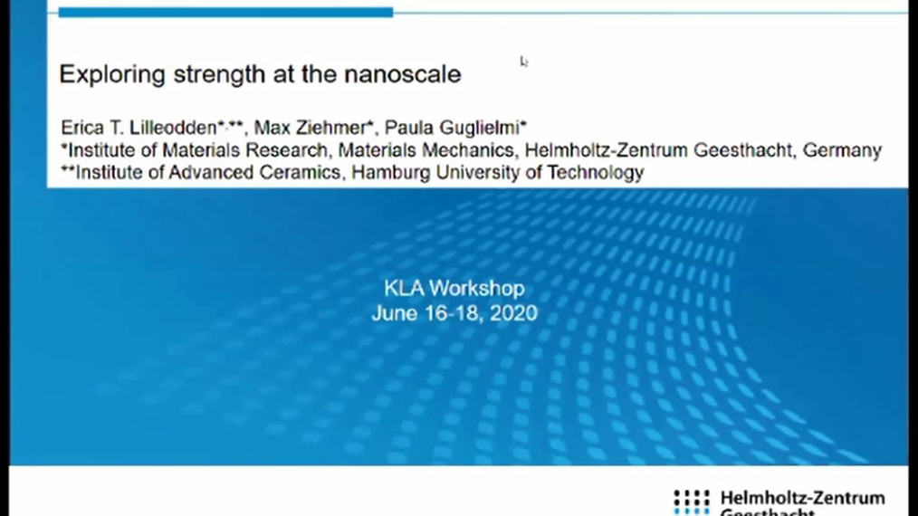 Dr. Erica Lilleodden: Exploring Strength at the Nanoscale