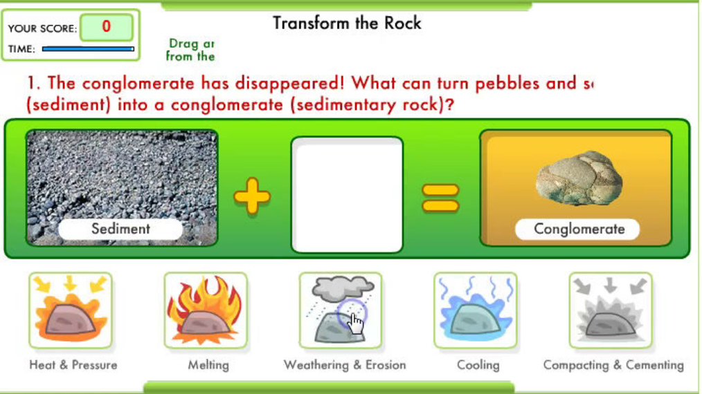 Rock Transormations