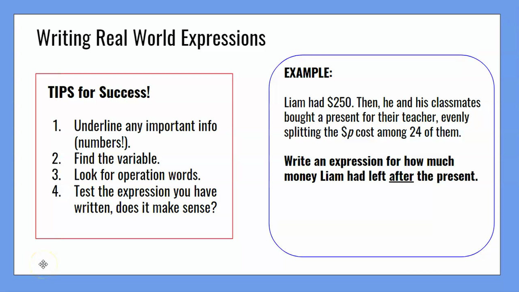 Writing Real World Expressions.mp4