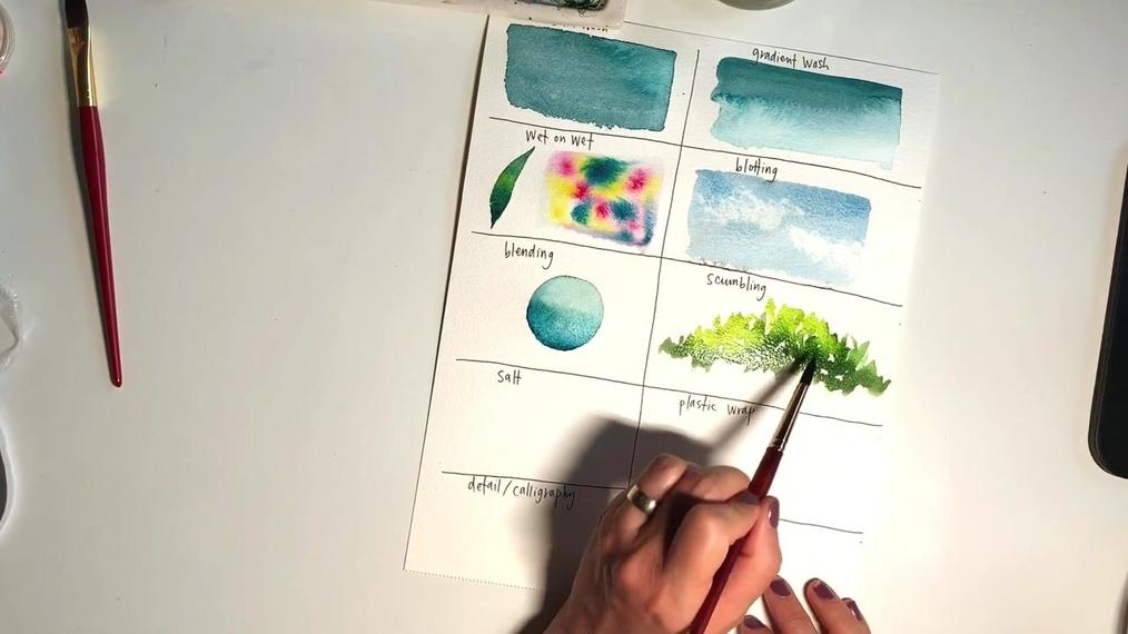 Watercolor Techniques.MOV
