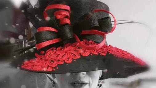 Red&black hat