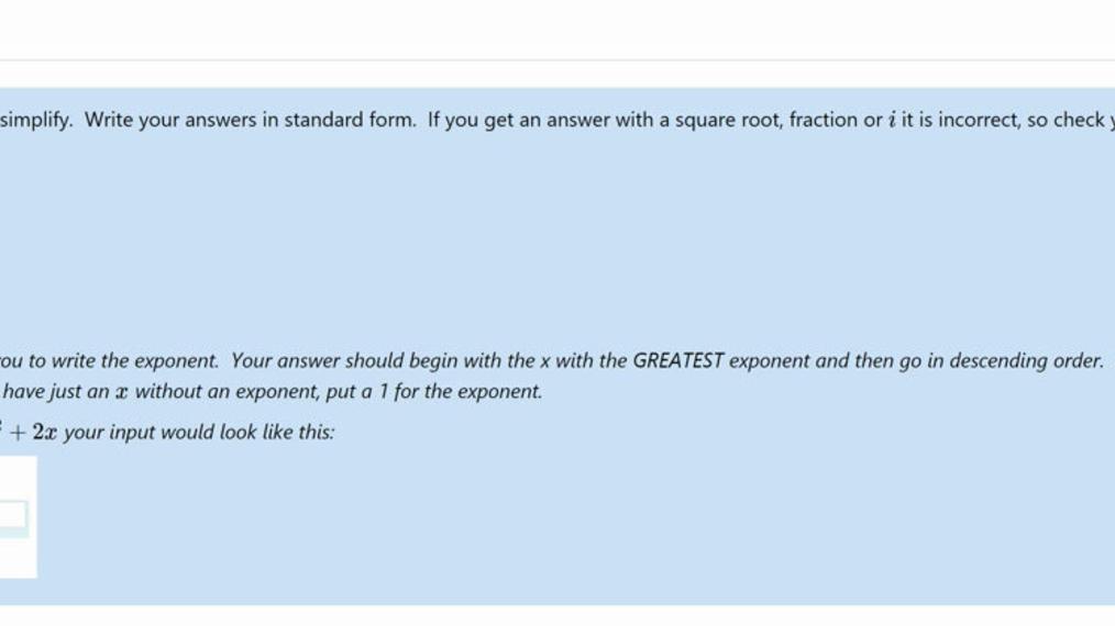 Homework Help Secondary Math III Unit 4 Review 3.mp4