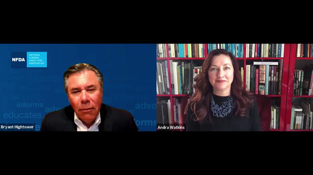 R. Bryant Hightower Talks with Speaker Andra Watkins