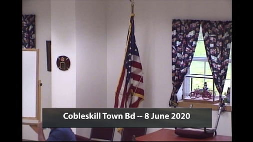 Cobleskill Town Bd -- 8 June 2020