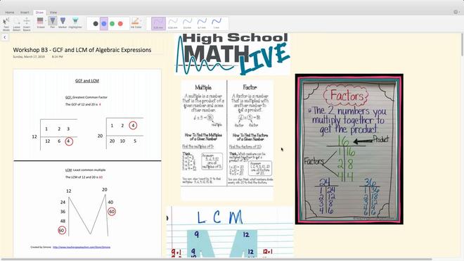 Brush Up Math Workshop B3 - GCF _ LCM of Algebraic Expressions.mp4