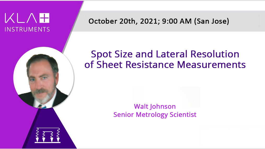 Spot Size and Lateral Resolution of Sheet Resistance Measurements