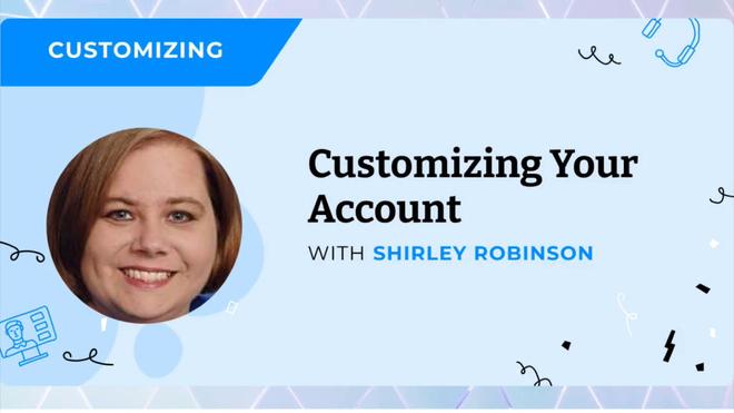 Customizing Account.mp4