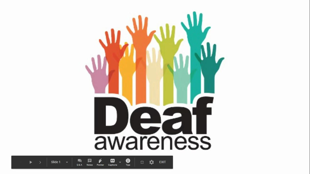 Ignite - Deaf Awareness