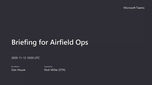 Briefing for Airfield Ops .mp4