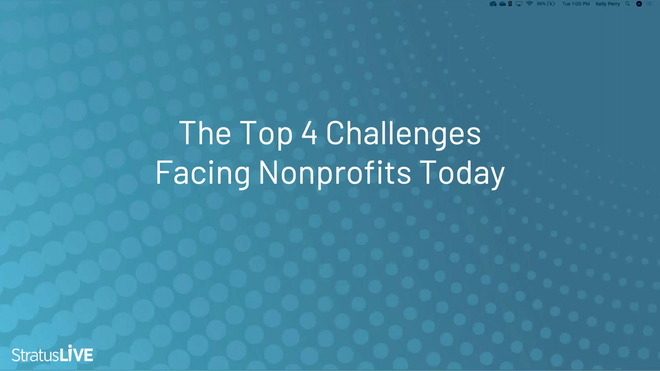 The Top Four Challenges Facing Nonprofits Today