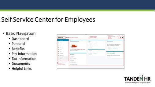 Employee Self Service Center - Cedarhurst