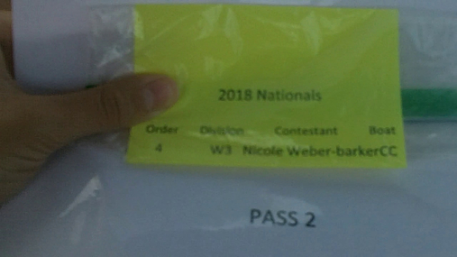 Nicole Weber-barker W3 Round 1 Pass 2