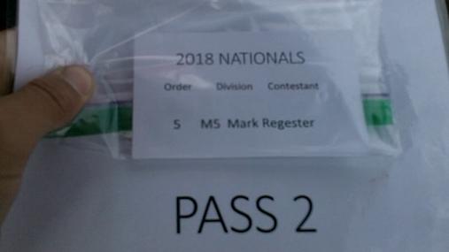 Mark Regester M5 Round 1 Pass 2
