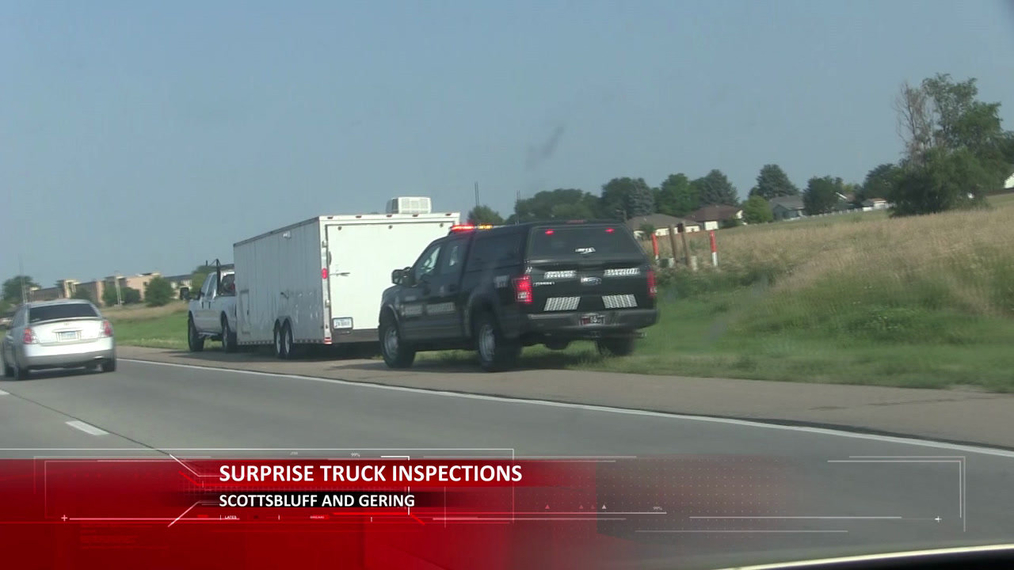 Truck Inspections in Scotts Bluff County