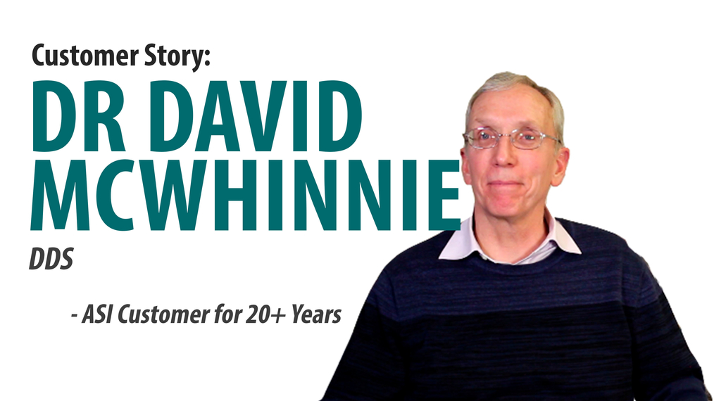 20 Years with ASI: Dr. Dave McWhinnie [66-2001]