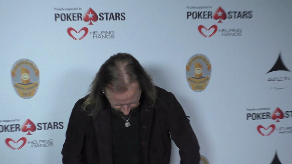 Jerry Cantrell at the Los Angeles Police Memorial Foundation Celebrity Poker Tournament at Avalon Nightclub in Hollywood.mp4