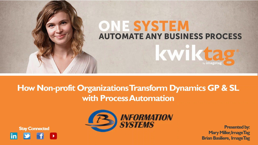 How Non-profit Organizations Transform Dynamics GP & SL with Process Automation