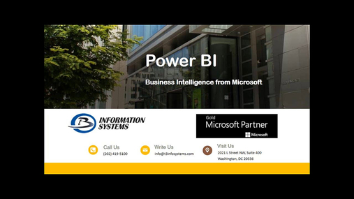 The New Power BI for Dynamics Users