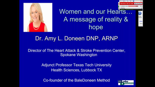 Women and Heart Disease - The REAL Deal! - 2017-02-16