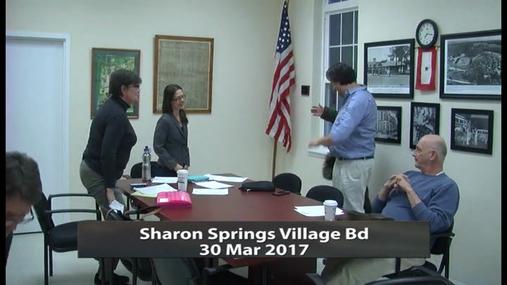 Sharon Springs Village Bd_30Mar2017