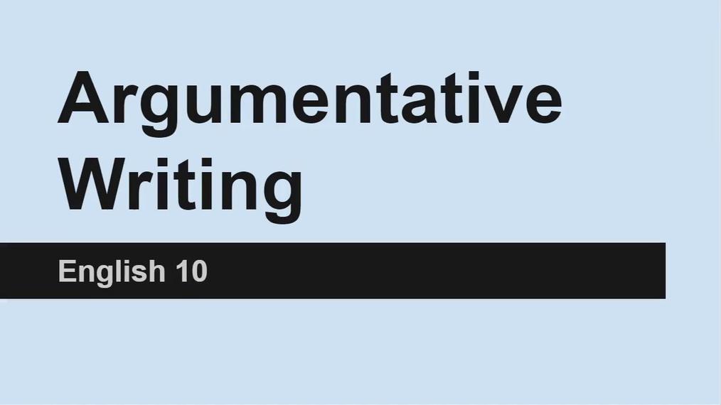 2016ArgumentativeWritingEnglish10