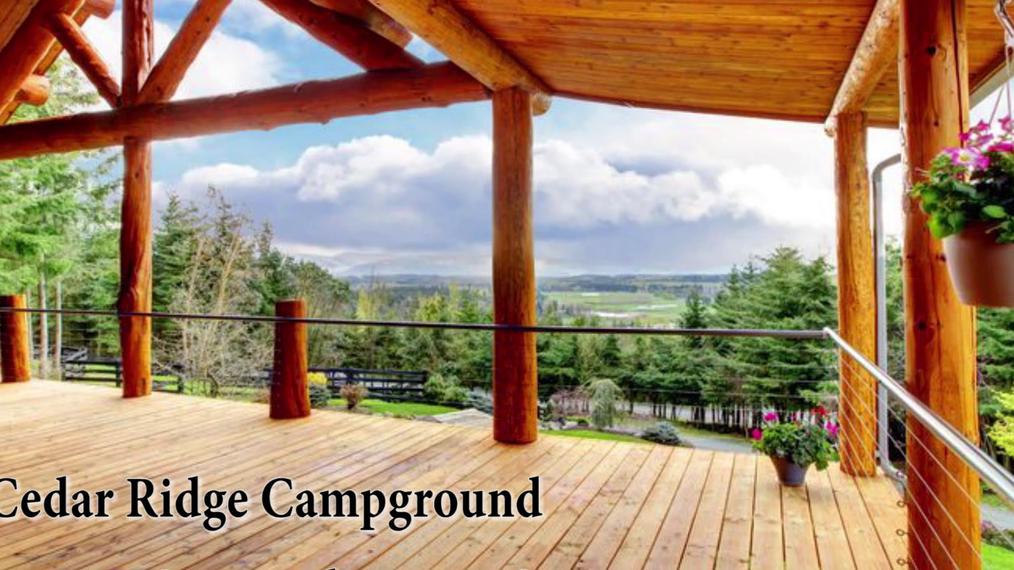 Cabins in Lebanon MO, Cedar Ridge Campground