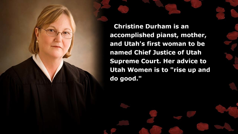 Christine Durham / Chief Justice