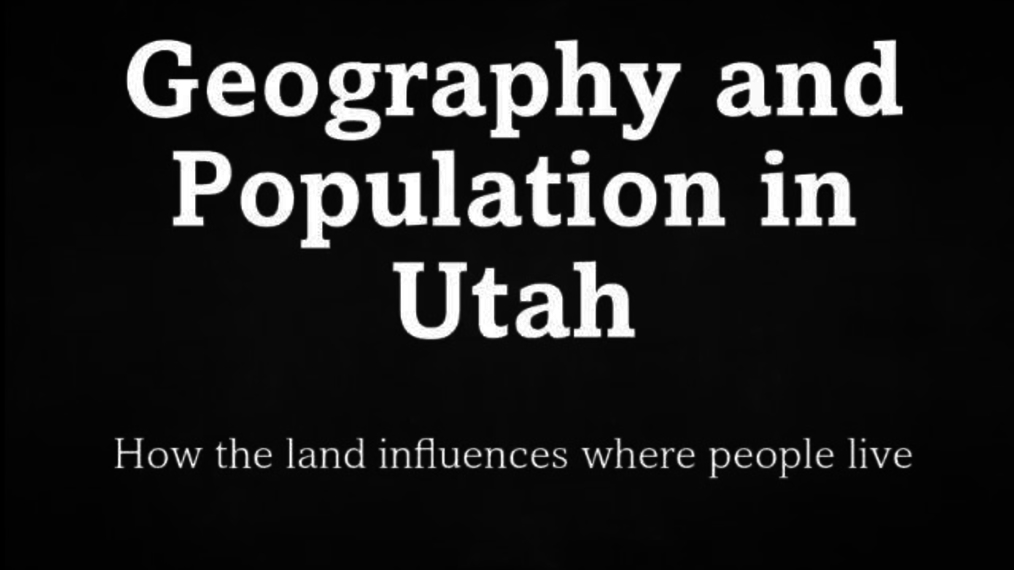 Geography and Population Sound