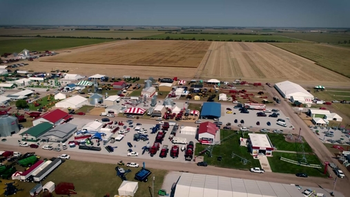 Drone View of Husker Harvest Days