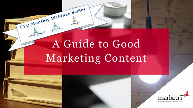 Marketri's Guide to Good Marketing Content