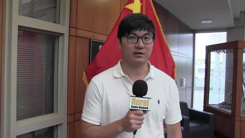 Mr. Tu Qianlong part of China Sorghum Team talks shipping costs
