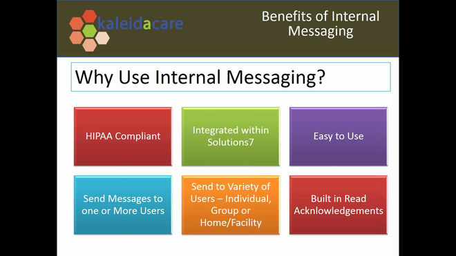 Free Training Friday 2017-09: Internal Messaging