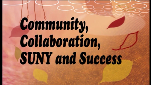 Community Collaboration SUNY and Success