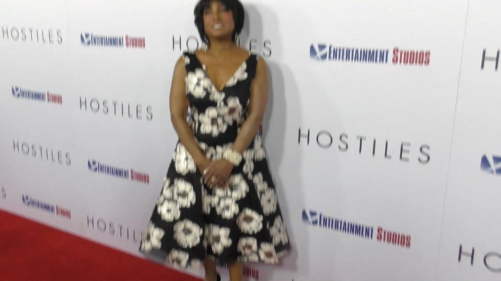 Carolyn Folks at the Hostiles Premiere at Samuel Goldwyn Theater in Beverly Hills.mp4
