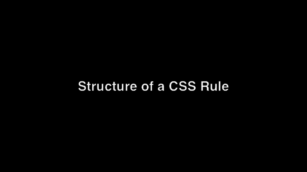 Structure of a CSS Rule.mp4