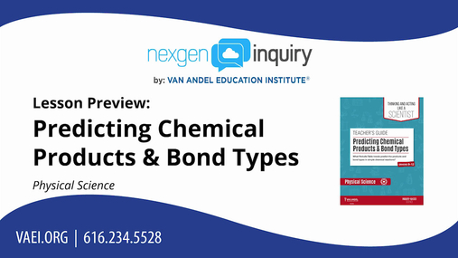 Predicting Chemical Products & Bond Types Lesson Preview