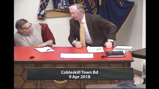 Cobleskill Town Bd -- 9 Apr2018