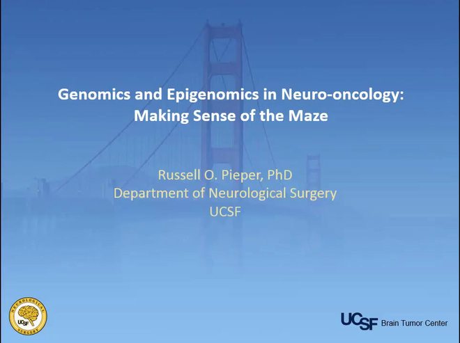 Genomics and Epigenomics in Neuro-Oncology: Making Sense of the Maze