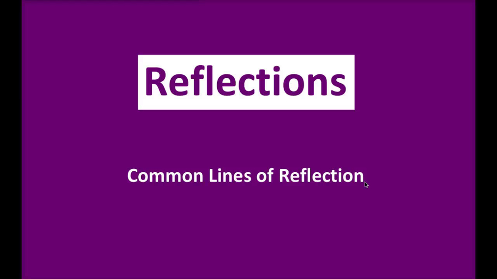 Math 8 Q3 NEW - Common Lines of Reflection.mp4