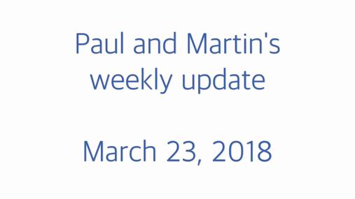 STP weekly update 23.03.18