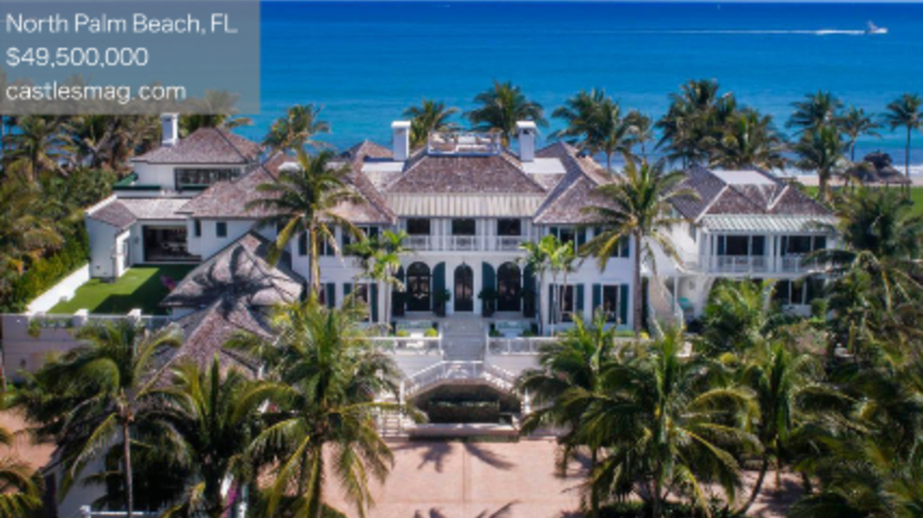 Tiger Wood's Ex-Wife's Palm Beach Mansion